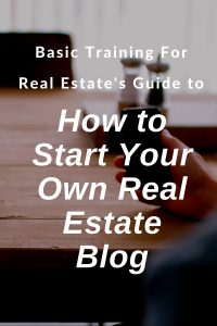 How to Start a Real Estate Blog